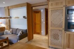 Appartement Chamois- Porte sdb